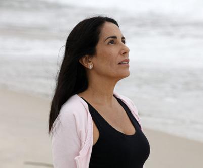 """Norma, a personagem de Gloria Pires na novela """"Insensato coração"""""""